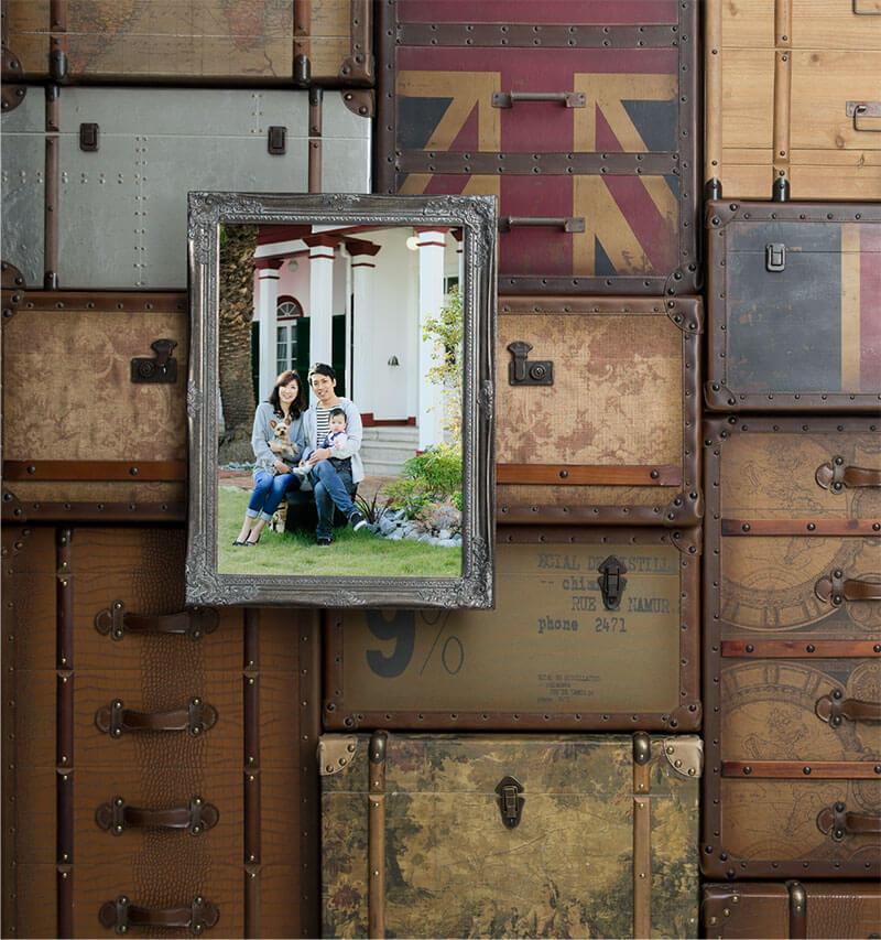 神戸の家族写真