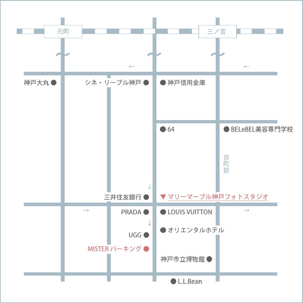 マリーマーブルのマップ