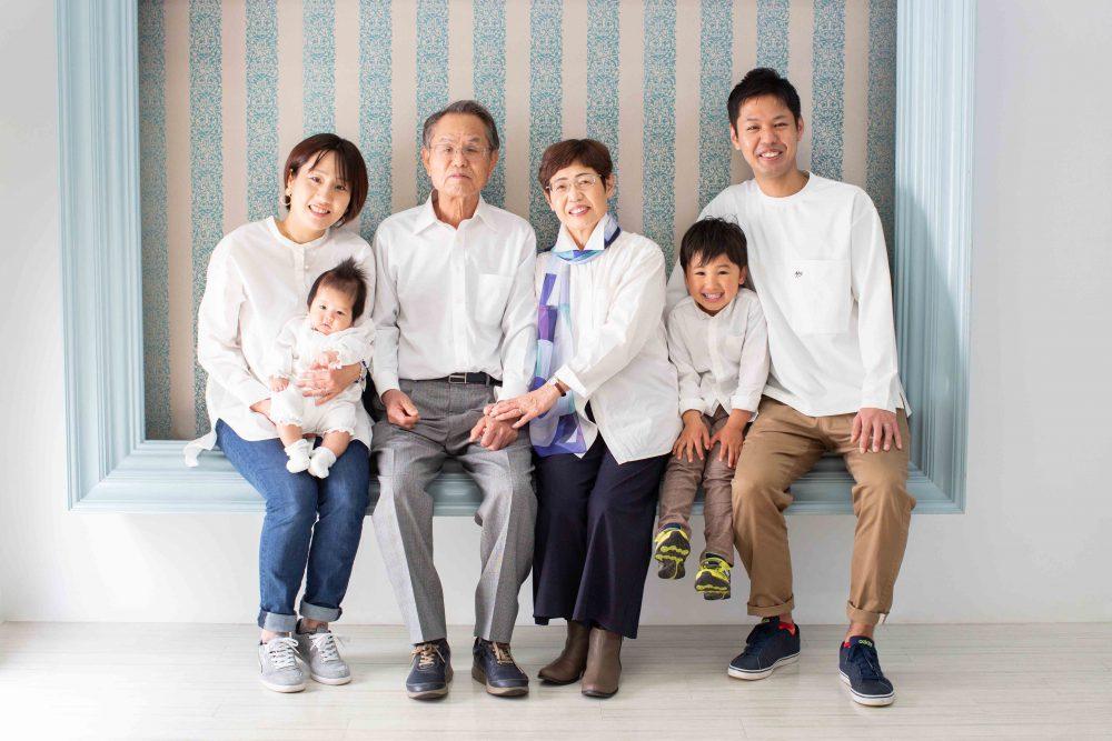 家族写真,ファミリーフォト,フォトスタジオ